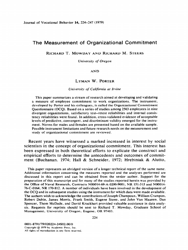 impact of employee turnover on organizational performance pdf