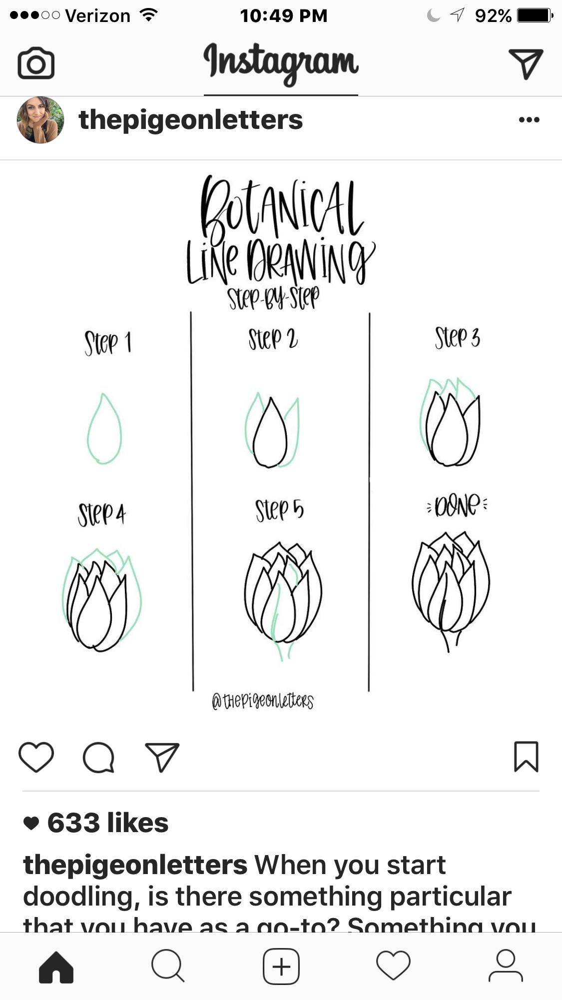 botanical line drawing peggy dean pdf