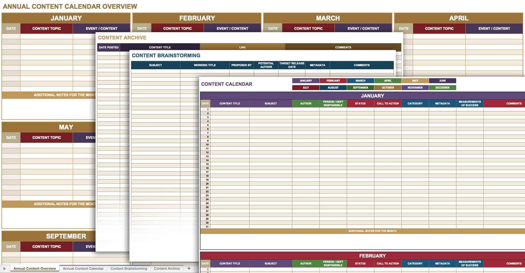 social media management schedule pdf