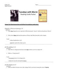 tuesdays with morrie free pdf