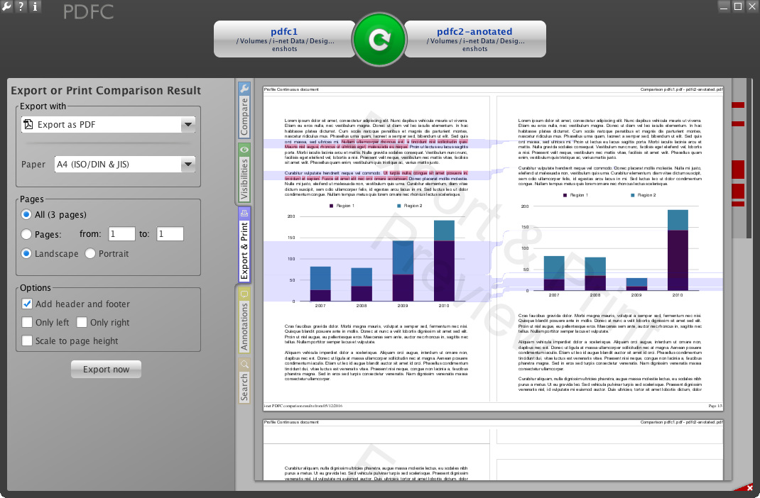 how to print annotations in pdf