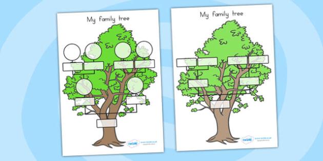 me and my family tree pdf