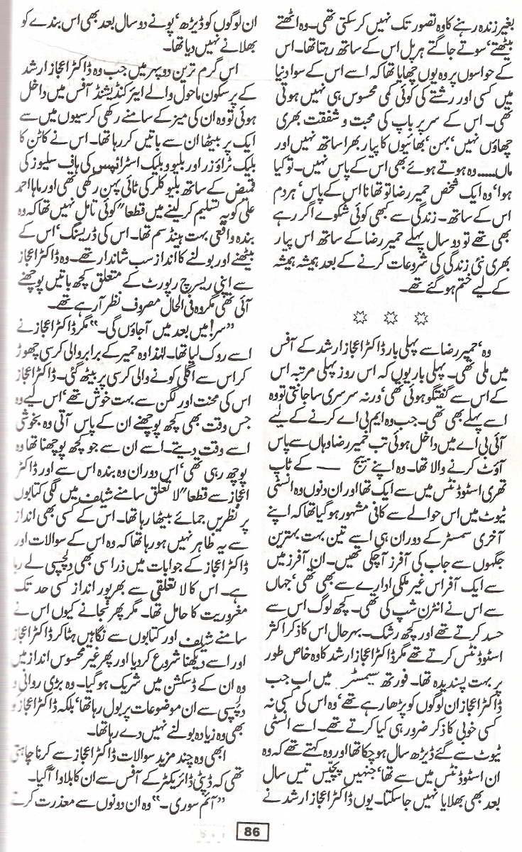 safar ki shaam by farhat ishtiaq pdf
