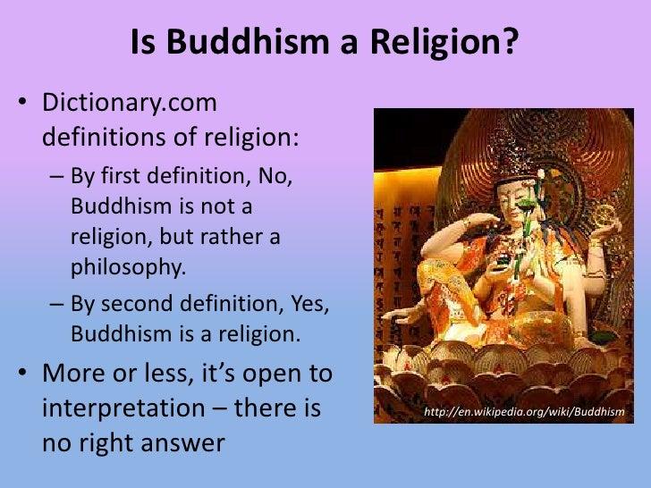 is buddhism a religion pdf