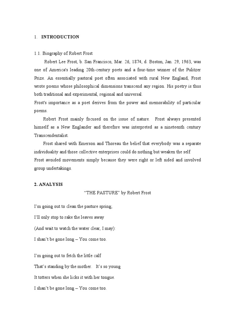 the road not taken by robert frost theme pdf