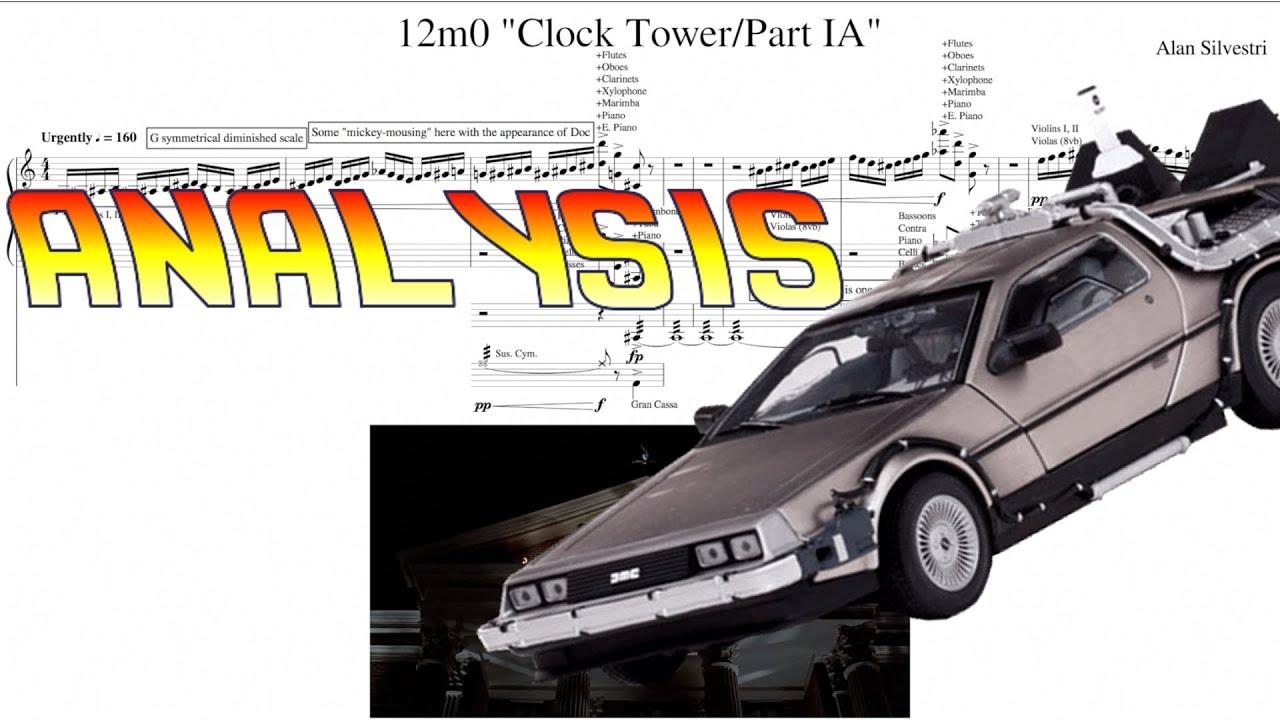 back to the future score pdf