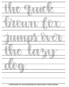 hand lettering pdf free download
