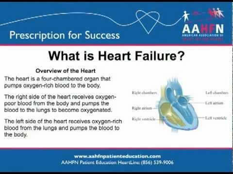 congestive heart failure patient education pdf