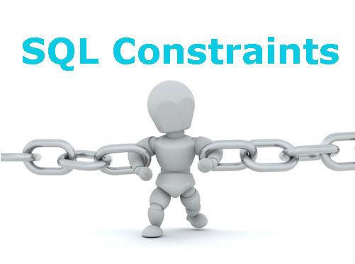 data constraints in sql pdf