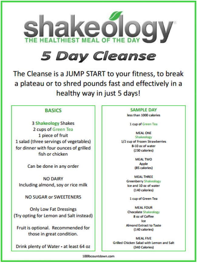 detox diet meal plan pdf