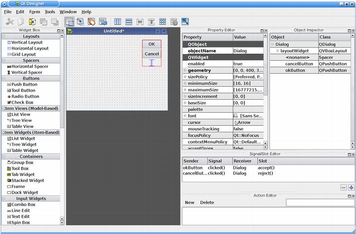 how to use qt designer pdf