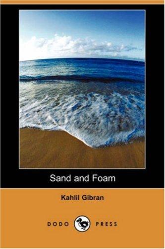 sand foam kahlil gibran pdf