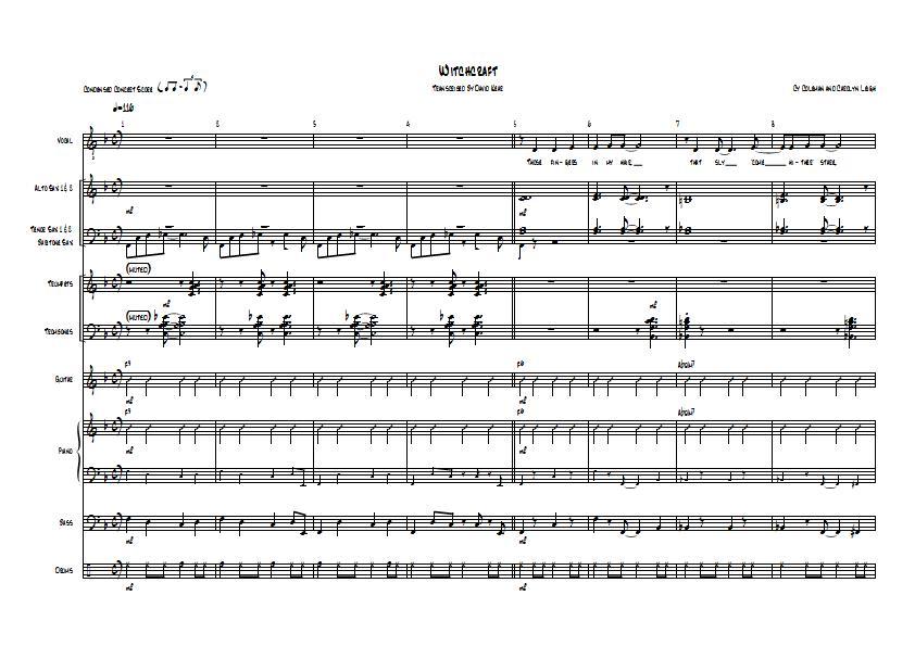 frank sinatra witchcraft sheet music pdf