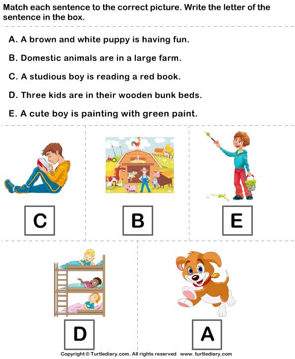 identifying topic sentence exercises pdf