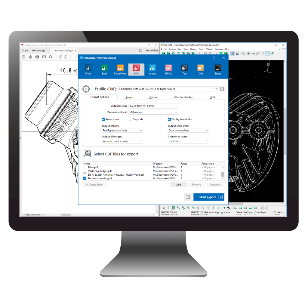 pdf to drawing converter online