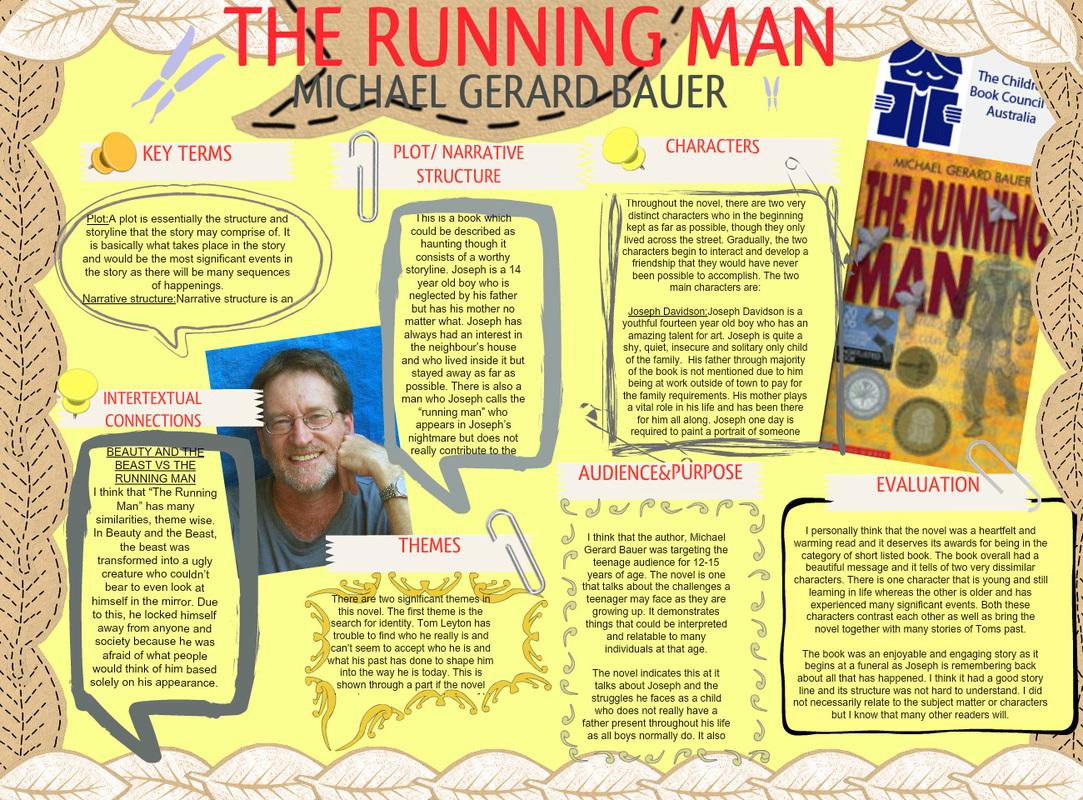 the running man michael gerard bauer pdf