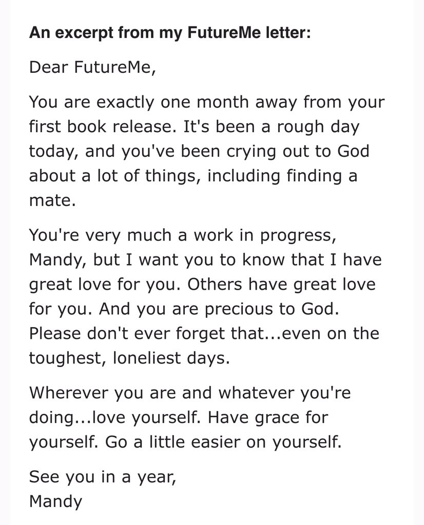 write a letter to your future self pdf